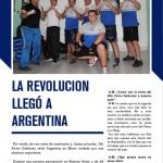 Nota en la revista Acción Maricial